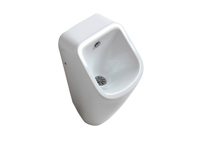 Suspended ceramic Urinal MEG11   Suspended Urinal by GALASSIA