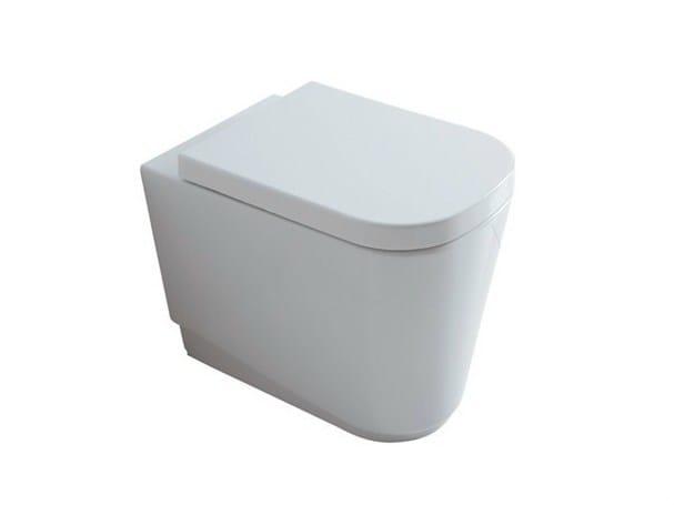 Ceramic toilet MEG11 | Toilet - GALASSIA