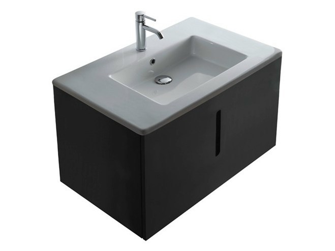 Lacquered MDF vanity unit MEG11 | Vanity unit - GALASSIA