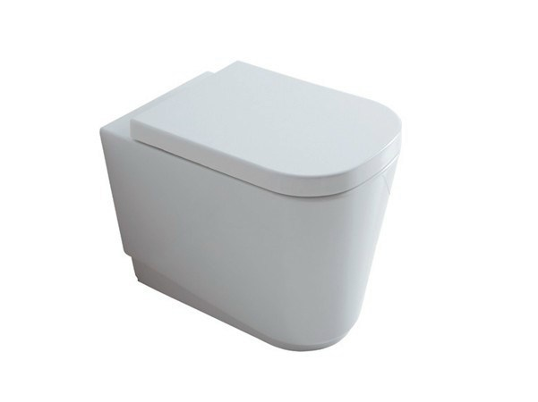 Ceramic toilet MEG11 | Wc with drain adjustable flush by GALASSIA
