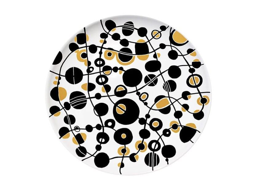 Ceramic dinner plate MEMORIAL - Kiasmo