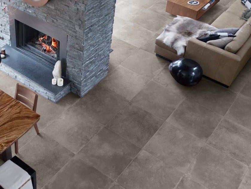 Porcelain stoneware flooring MEMORY MOOD by Panaria Ceramica