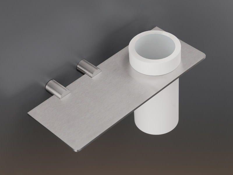 Toothbrush holder / bathroom wall shelf MEN04 - Ceadesign S.r.l. s.u.