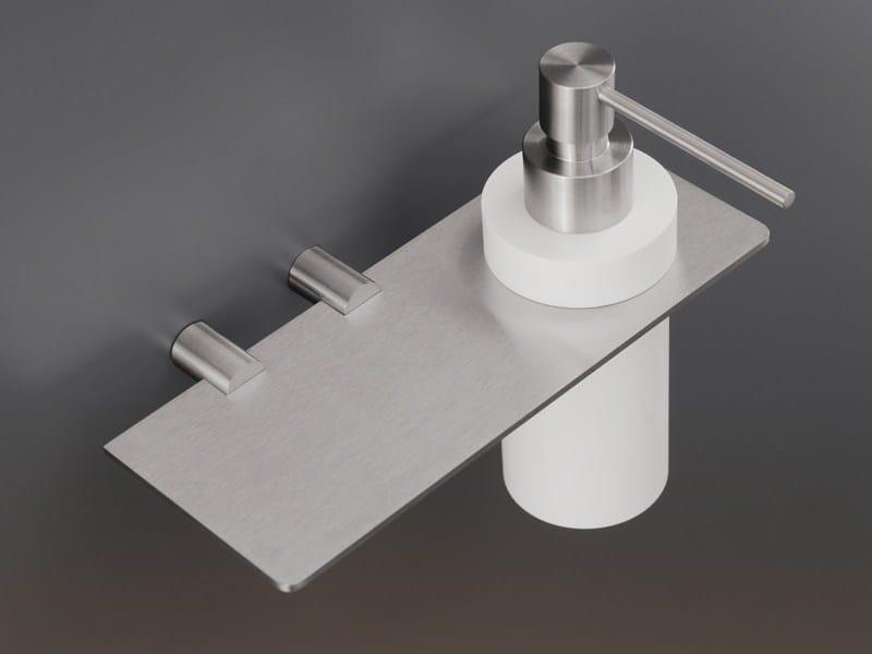 Liquid soap dispenser / bathroom wall shelf MEN08 - Ceadesign S.r.l. s.u.