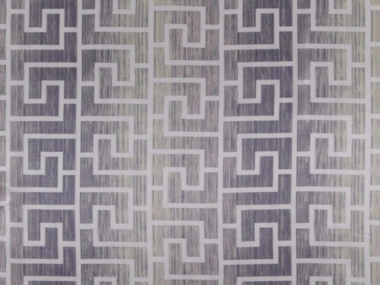 Printed polyester fabric with graphic pattern MENDI by FR-One