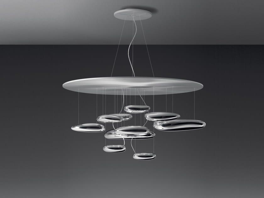Indirect light aluminium pendant lamp MERCURY | Pendant lamp - Artemide Italia
