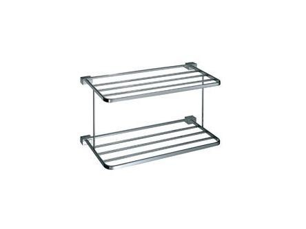 Metal bathroom wall shelf LOGIC | Metal bathroom wall shelf - INDA®