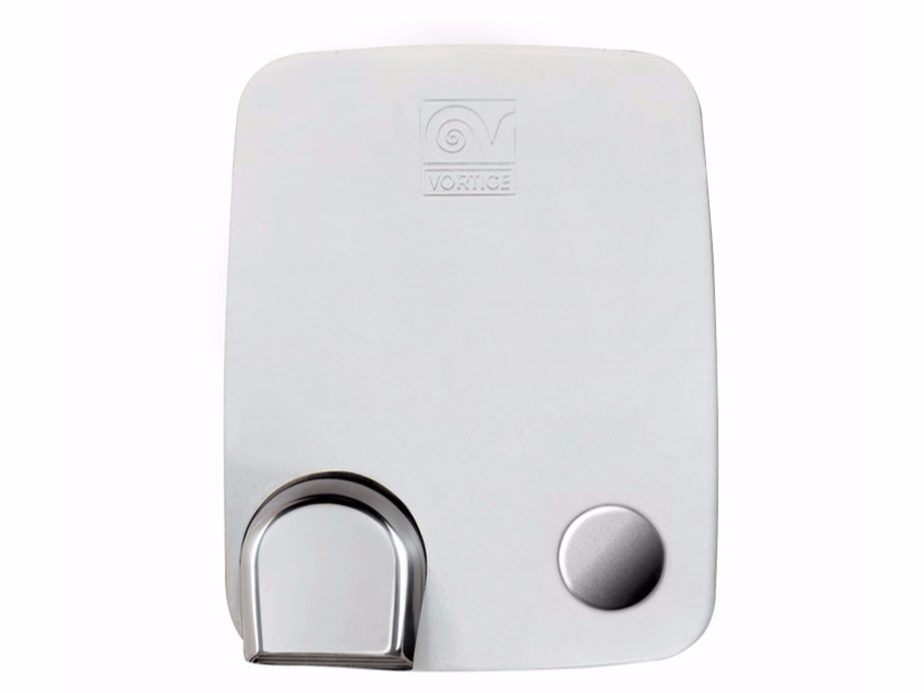 Die cast aluminium Electric hand-dryer with push-button METAL DRY by Vortice