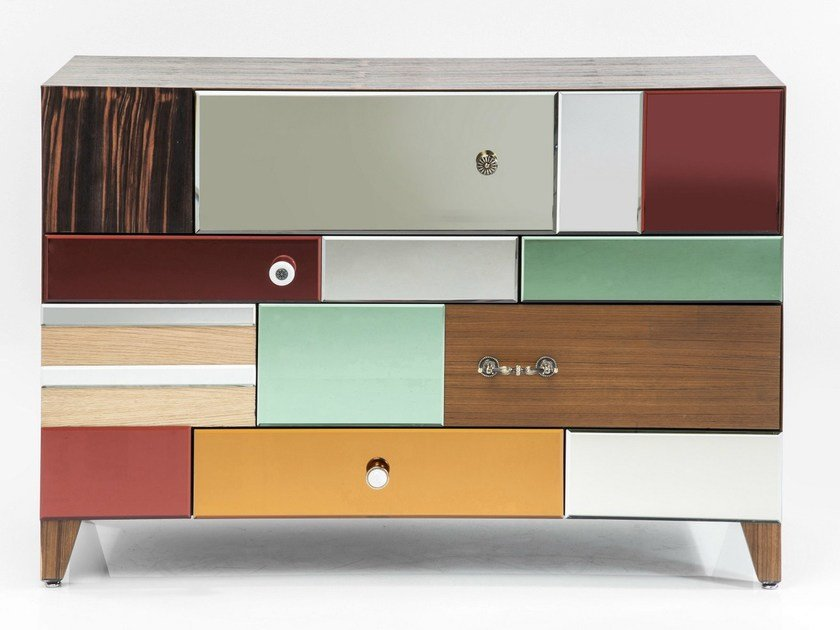 Lacquered sideboard with drawers METAMORPHOSIS | Sideboard - KARE-DESIGN