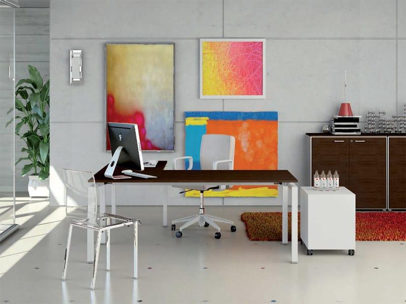 Rectangular office desk METHRO | Office desk by Arcadia