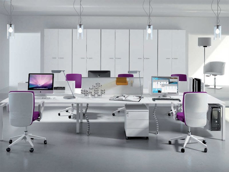 Multiple office workstation for open space METHRO | Office workstation by Arcadia