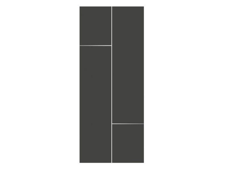 Door panel for outdoor use METROPOLITAN LATINA ALU - Metalnova