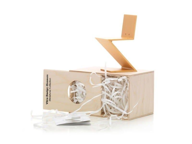 Soprammobile miniatures zig zag stoel collezione for Mobili bauhaus repliche