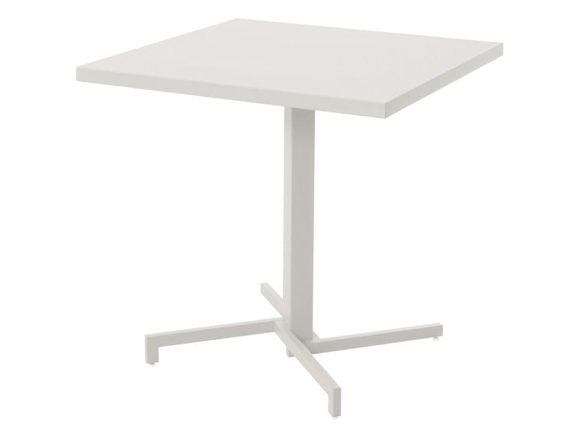 Tavolo pieghevole quadrato in HPL MIA - EMU Group S.p.A.