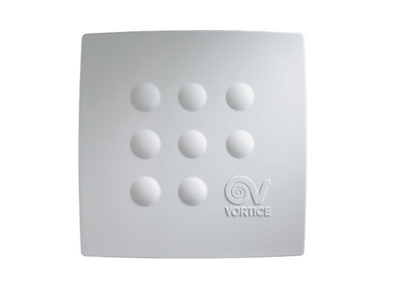 Centrifugal Inbuilt 2 speed bathroom fan with timer MICRO 100 I T - Vortice Elettrosociali