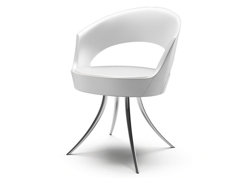 Fabric easy chair with armrests MIDA | Easy chair by Cizeta