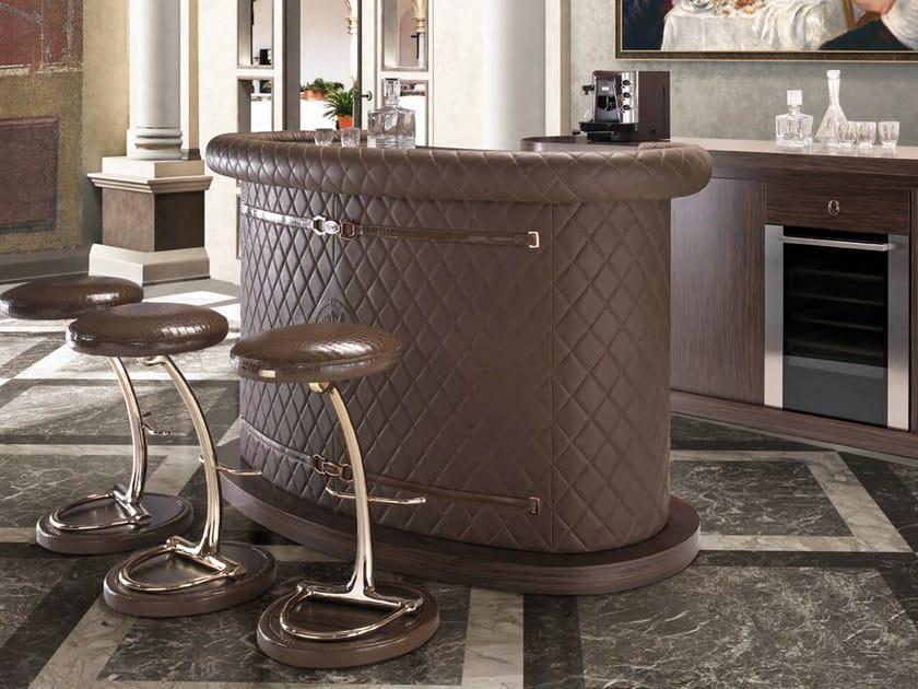 Bancone bar in pelle MIHAELA | Bancone bar - Formitalia Group