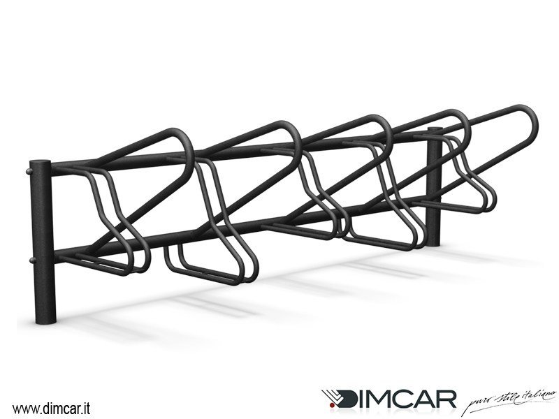 Galvanized steel Bicycle rack Portabici Milano - DIMCAR