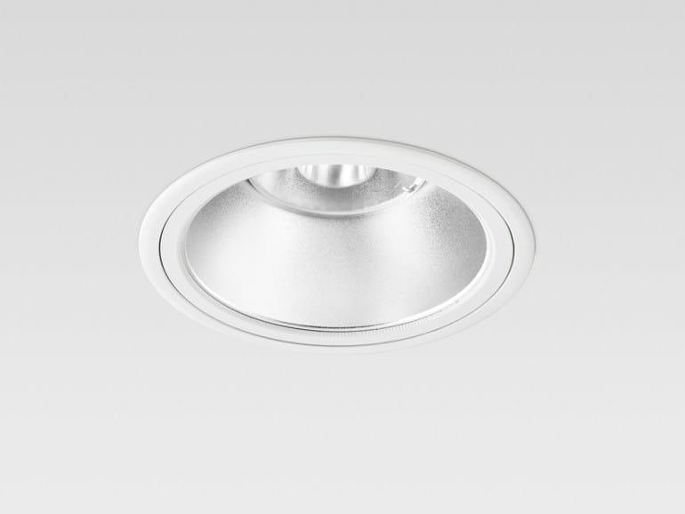 LED recessed die cast aluminium spotlight MILED Ø166 COMFORT - Reggiani Illuminazione