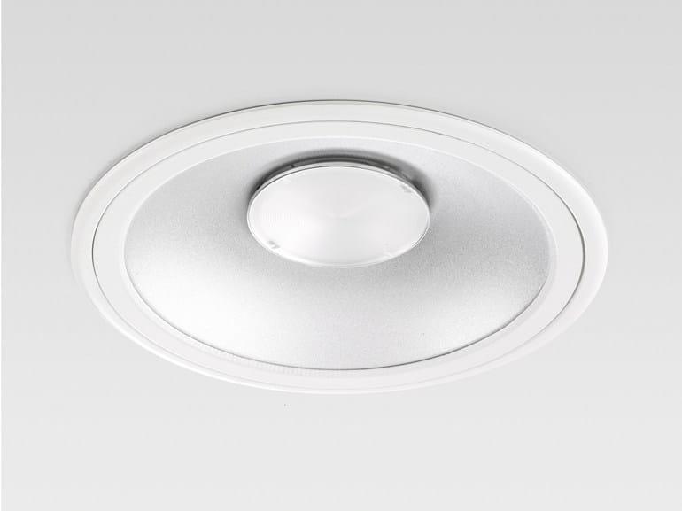 LED recessed die cast aluminium spotlight MILED Ø233 COMPACT - Reggiani Illuminazione