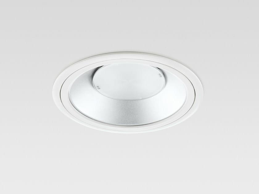 LED recessed die cast aluminium spotlight MiLed COMPACT - Reggiani Illuminazione