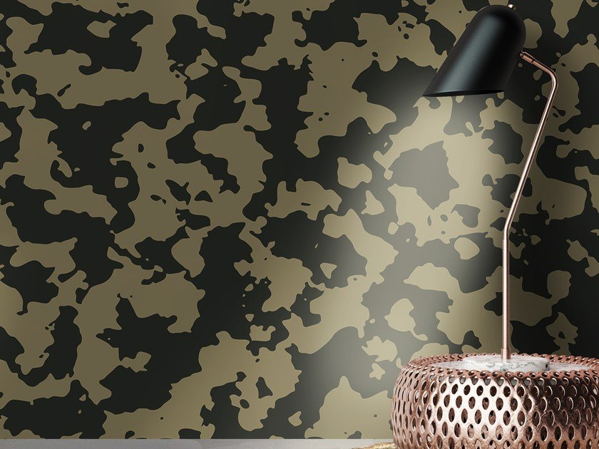 Adhesive washable wallpaper MILITARY by Wall LCA