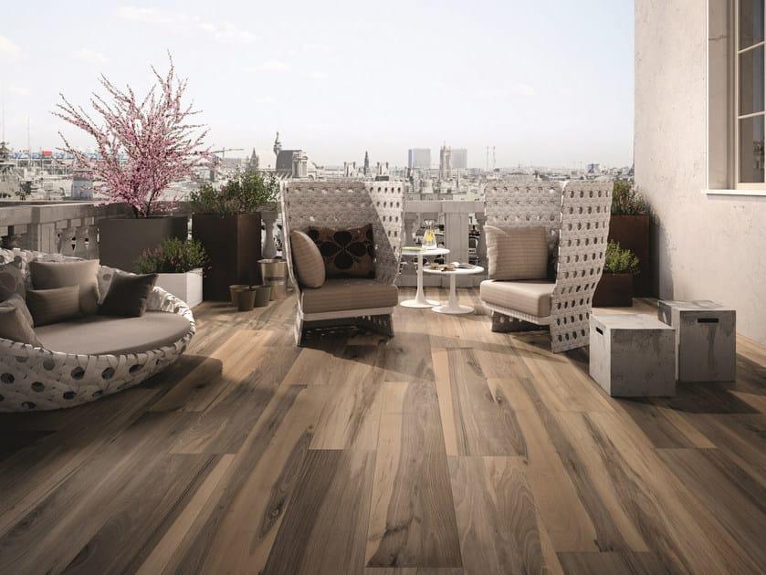Floor tiles for indoor and outdoor use