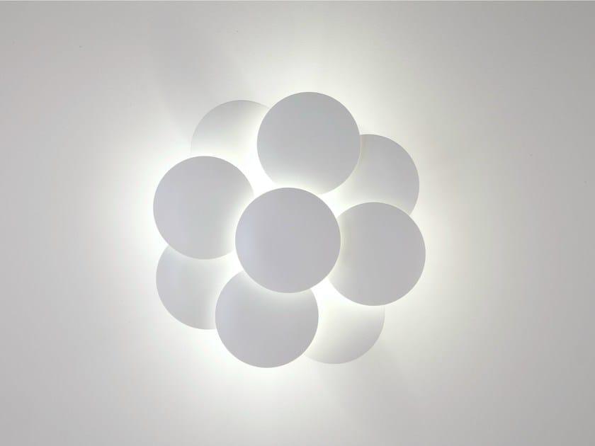 LED aluminium wall light MILLELUMEN CIRCLES | Wall light - millelumen