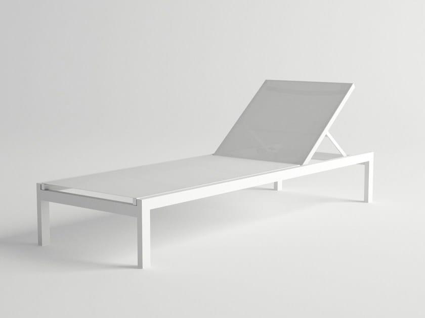 Recliner aluminium garden daybed MILOS | Garden daybed by 10Deka