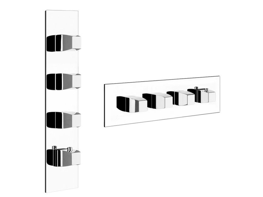 4 hole thermostatic shower mixer MIMI WELLNESS 43086 - Gessi