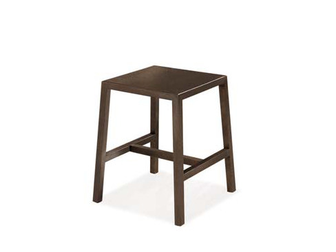 Low iron stool with footrest MINI | Stool - CREO Kitchens by Lube