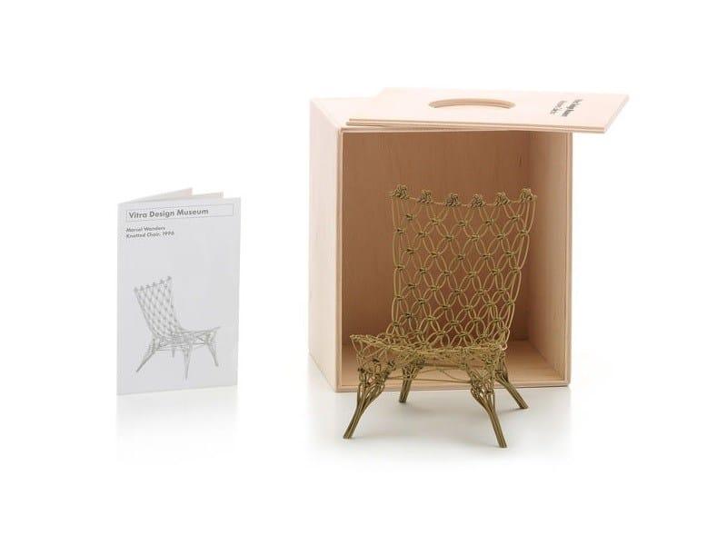 Soprammobile miniatures knotted chair collezione for Mobili bauhaus repliche