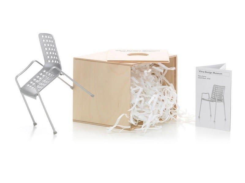 Soprammobile miniatures landi chair collezione miniatures for Mobili bauhaus repliche