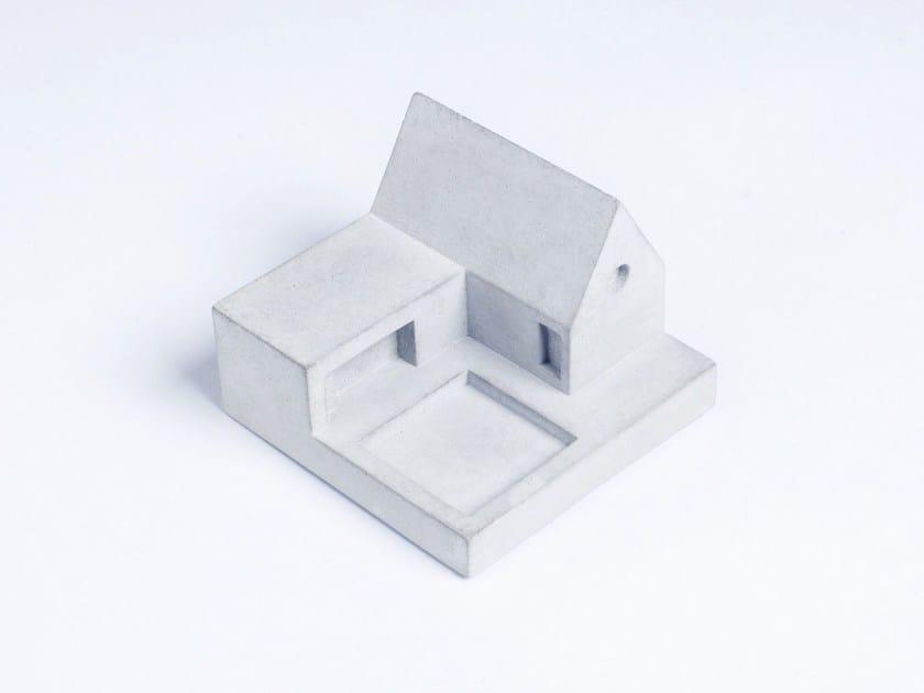 Concrete Furniture knob / architectural model Miniature Home Concrete #2 - Material Immaterial studio