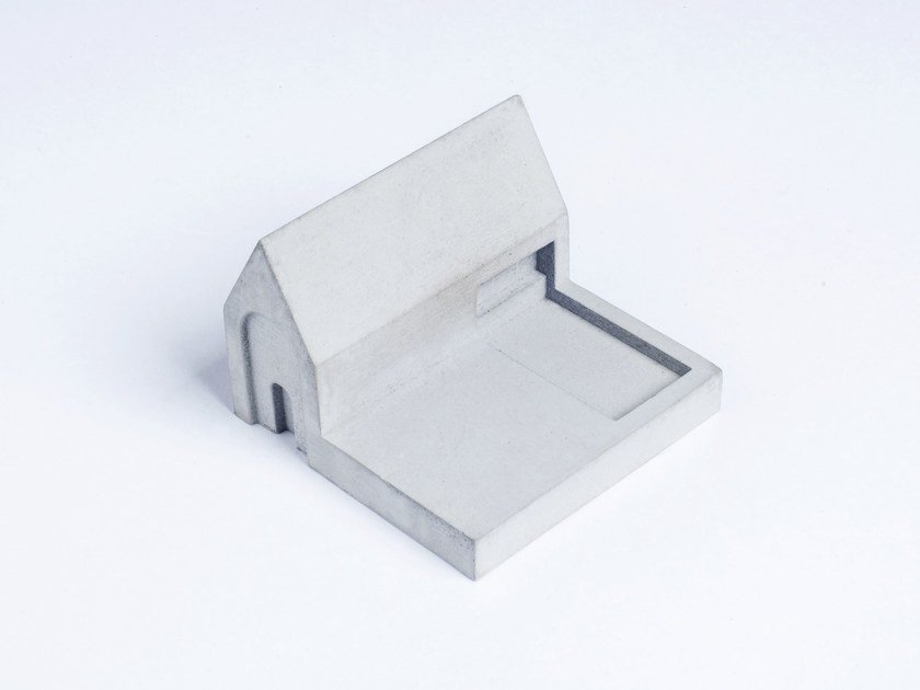 Concrete Furniture knob / architectural model Miniature Home Concrete #3 - Material Immaterial studio