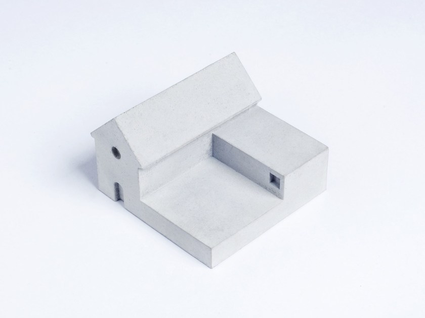 Concrete Furniture knob / architectural model Miniature Home Concrete knob #4 - Material Immaterial studio