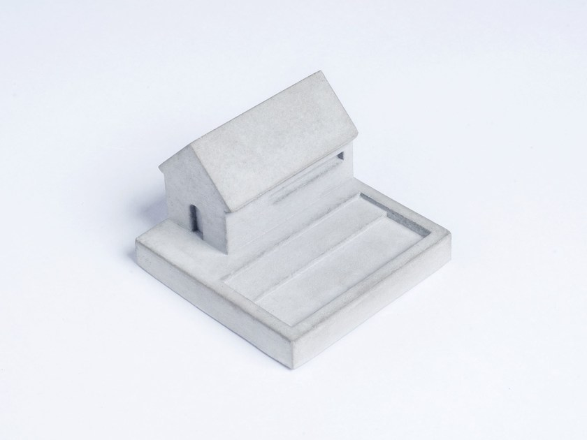 Concrete Furniture knob / architectural model Miniature Home Concrete #5 - Material Immaterial studio