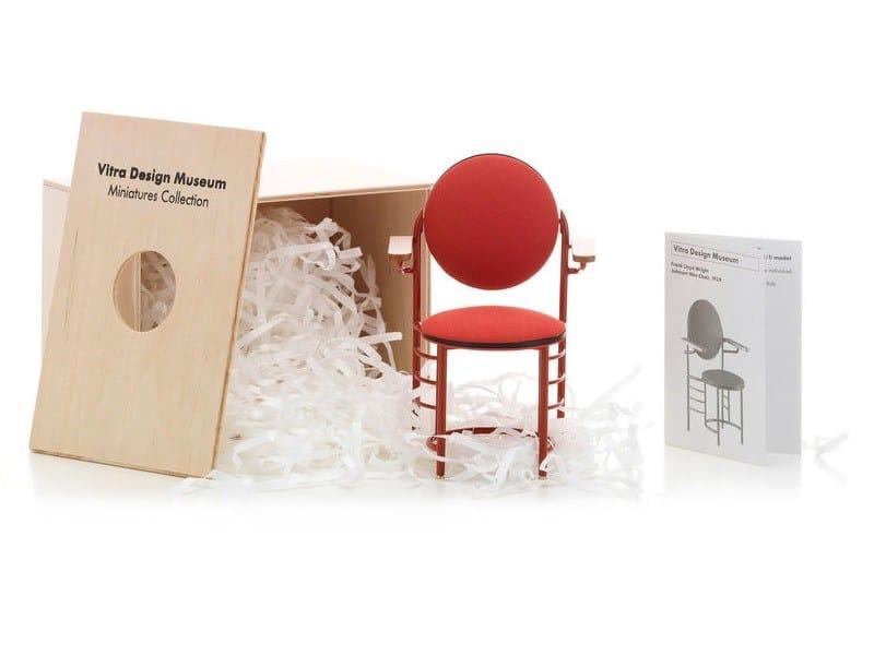 Soprammobile miniatures johnson wax chair collezione for Mobili bauhaus repliche