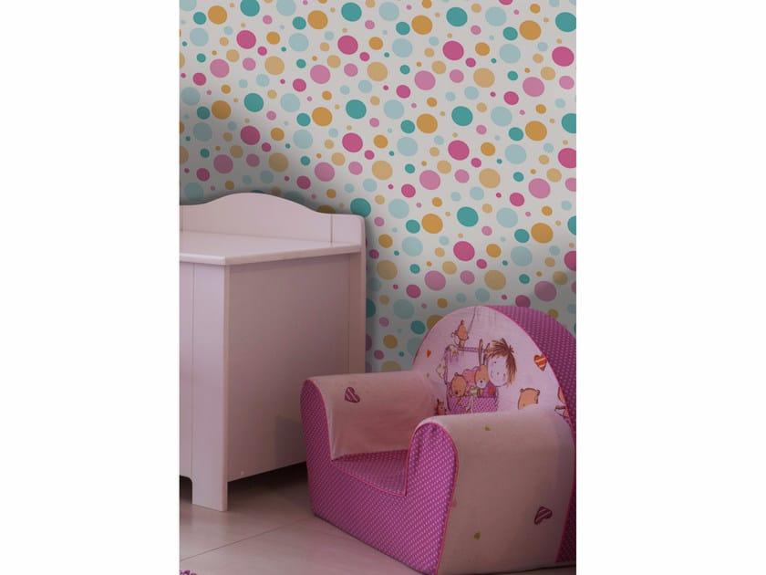 Adhesive washable wallpaper MINIBALLS by Wall LCA