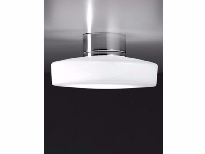 LED glass ceiling lamp MINIDRUM | Ceiling lamp - Ailati Lights