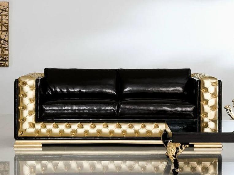 Minimal baroque divano a 3 posti by modenese gastone group for Divano minimal