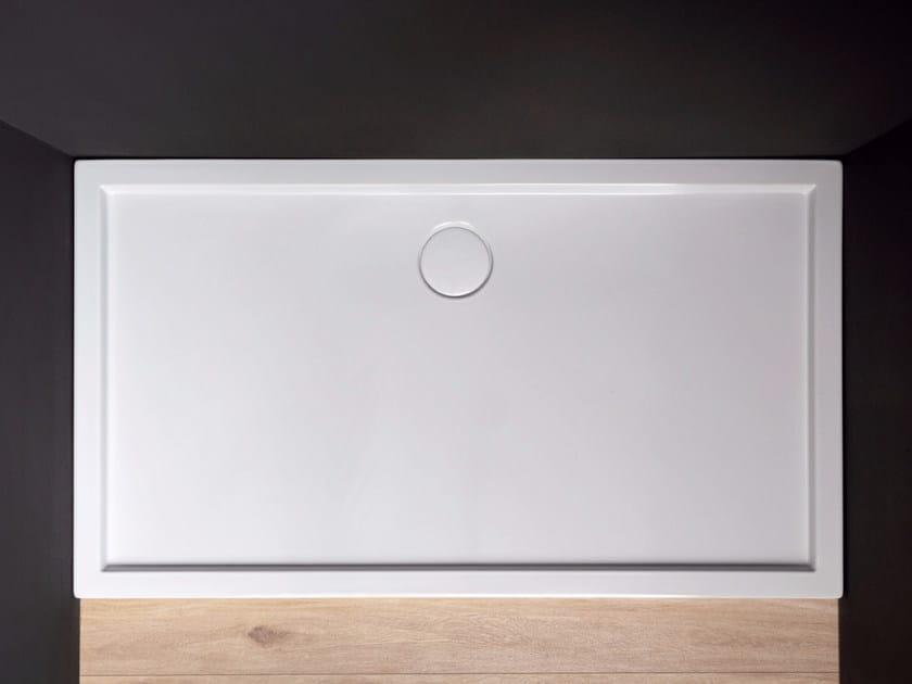Rectangular ceramic shower tray MINIMO by Nic Design
