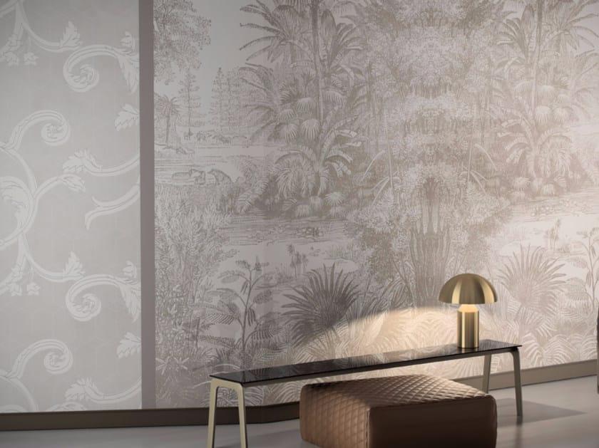 Motif vinyl wallpaper MINT - GLAMORA