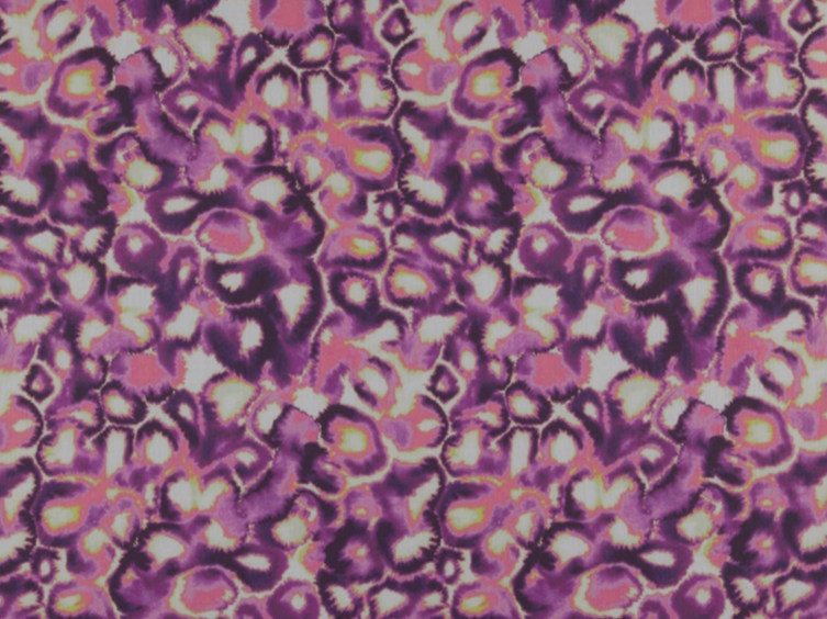 Printed polyester fabric with graphic pattern MIR by FR-One