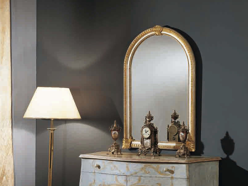 Wall-mounted framed mirror ARTU' | Mirror - Arvestyle