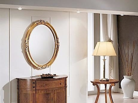 Oval wall-mounted framed mirror DIANA | Mirror by Arvestyle
