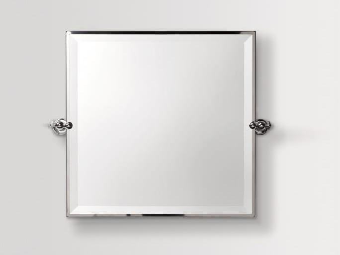 Tilting framed bathroom mirror CIRCLE | Mirror - BATH&BATH