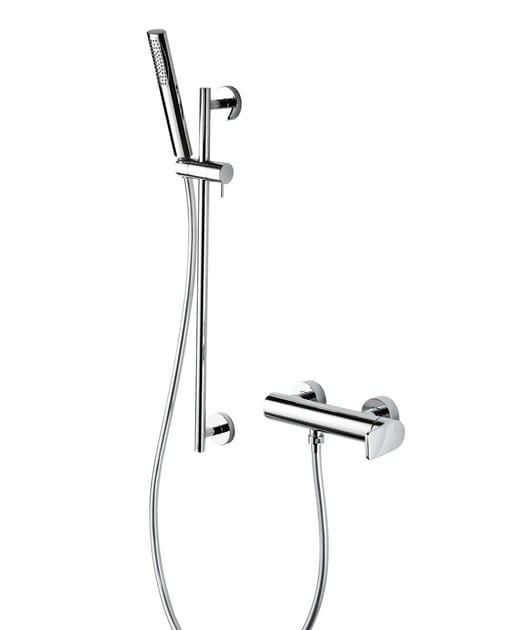 Shower mixer with hand shower with flexible hose MISTERY | Shower mixer with hand shower - RUBINETTERIE RITMONIO