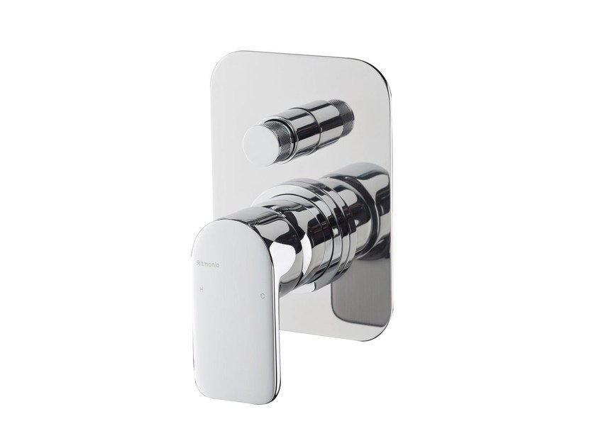 Single handle shower mixer with diverter MISTERY | Shower mixer with diverter - RUBINETTERIE RITMONIO