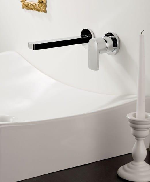 Miscelatore per lavabo a muro mistery miscelatore per lavabo a muro ritmonio - Rubinetti a muro bagno ...